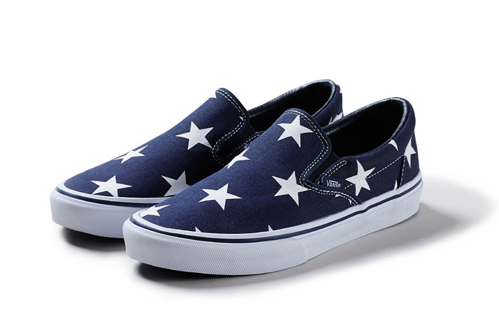 SOPHNET-Vans-Slip-On-Indigo-Star