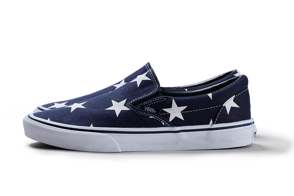 SOPHNET-Vans-Slip-On-Indigo-Star