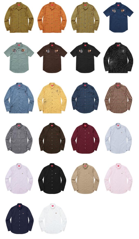 supreme-2016aw-shirts