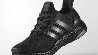 adidas Ultra Boost 3.0 Triple Black が2017春夏に発売予定