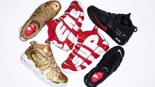 Supreme × Nike Air More Uptempo Suptempoが4月29日に発売予定