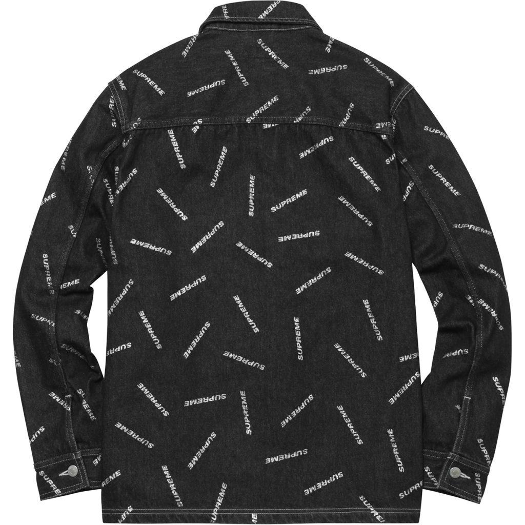 supreme-2017ss-denim-logo-chore-coat