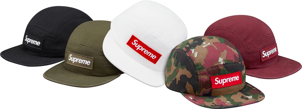 supreme-2017ss-military-camp-cap
