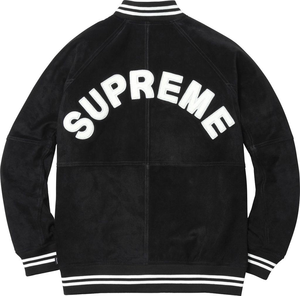 supreme-2017ss-suede-varsity-jacket