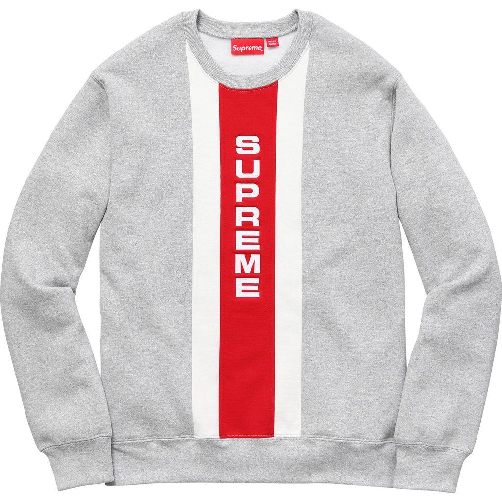 supreme-2017ss-vertical-logo-panel-crewneck
