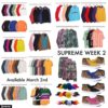 Supreme 公式通販サイトで3月4日に発売予定のアイテム画像【Vansコラボスニーカー、スウェードジャケットなど】