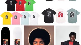 Supreme × Michael Jackson 2017SSコラボアイテムが5月27日に発売予定