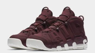 NIKE AIR MORE UPTEMPO BORDEAUXが5/1に海外で発売予定