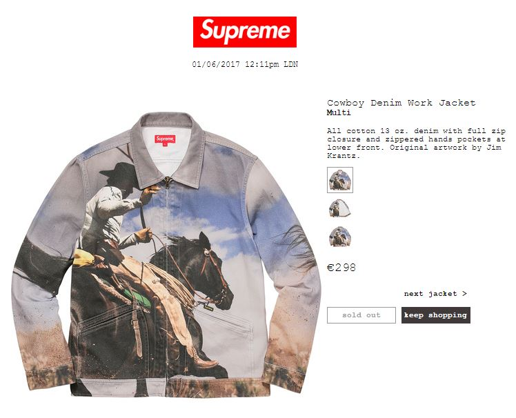 Supreme shop online usa