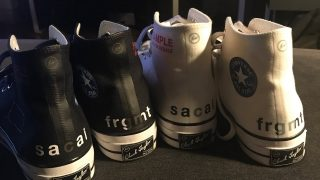 Fragment Design × sacai × Converse All Star Highが発売予定か?