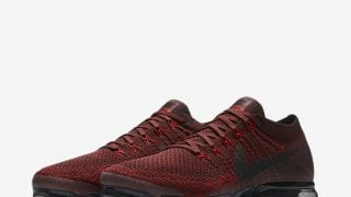 NIKE AIR VAPORMAX DARK TEAM RED BLACKが7/22に国内発売予定【直リンク有り】