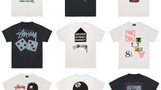 DSM × STUSSY コラボTシャツコレクションが8/26にDSMGの店頭&オンラインで発売予定