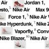 Off-White x Nike コラボスニーカーThe Ten 10型が11/9から国内で順次発売予定