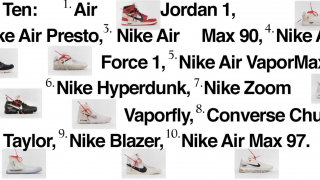 Off-White x Nike コラボスニーカー10型が11月に国内発売予定【5型が9月に欧米でプレリリース予定】