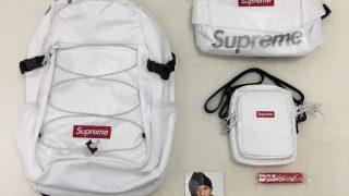 Supreme リュック 17AWモデルの購入者レビュー【ウエストバッグ、ショルダーバッグなど】