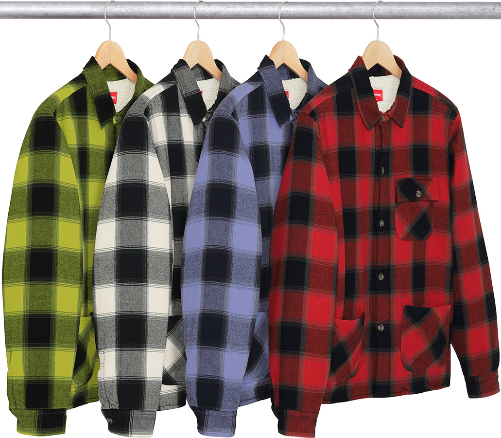supreme-2017aw-fall-winter-buffalo-plaid-sherpa-lined-chore-shirt