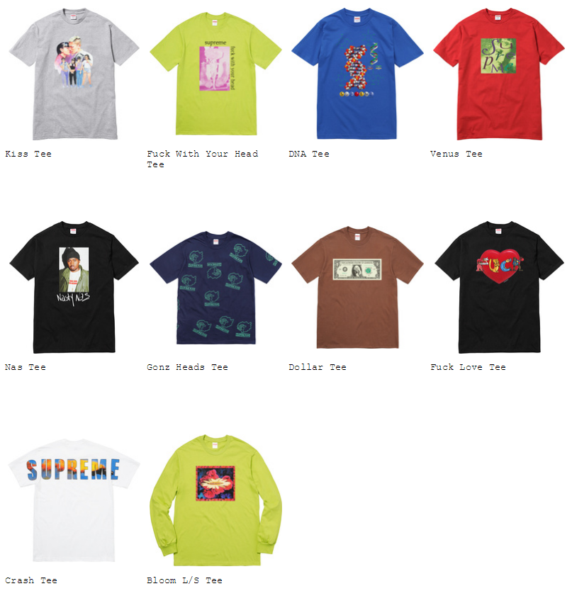 supreme-2017aw-fall-winter-collection-t-shirts-1