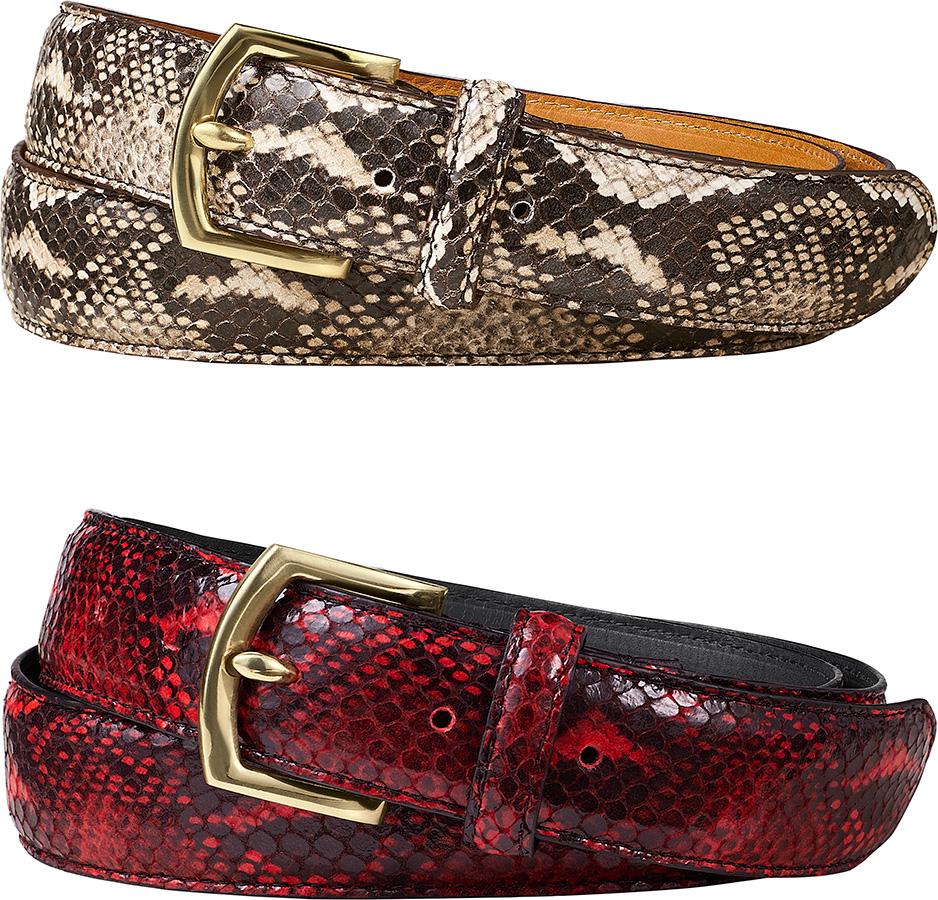 supreme-2017aw-fall-winter-faux-snakeskin-belt