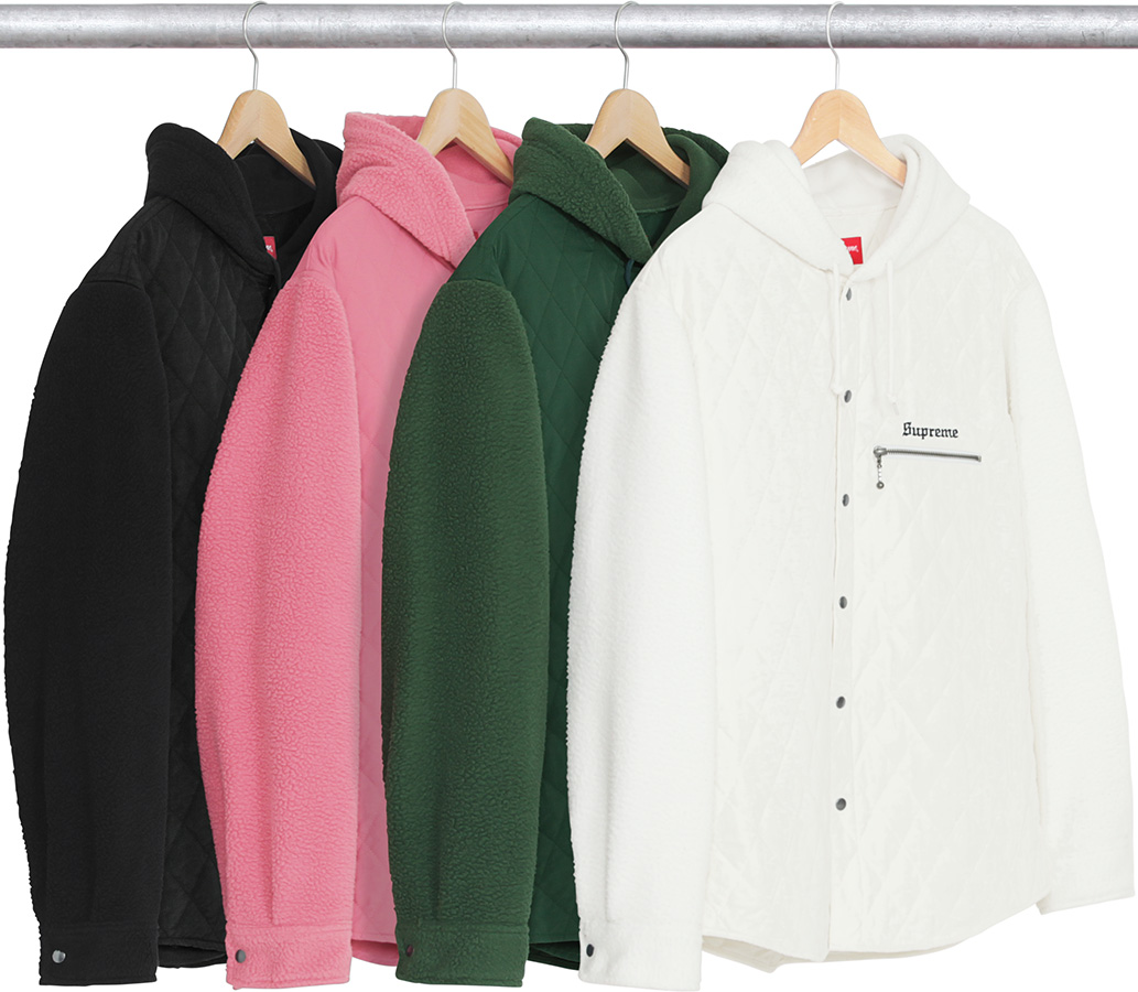 supreme-2017aw-fall-winter-hooded-fleece-nylon-shirt