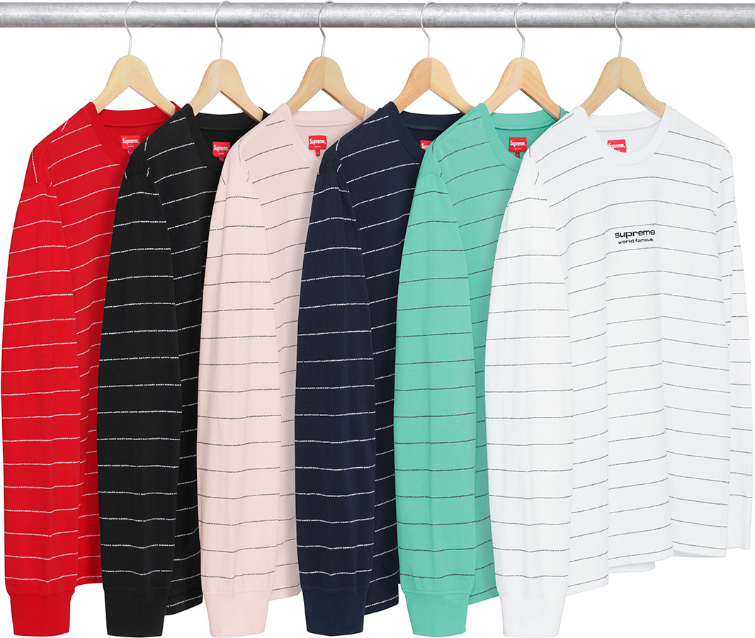 supreme-2017aw-fall-winter-logo-stripe-l-s-top