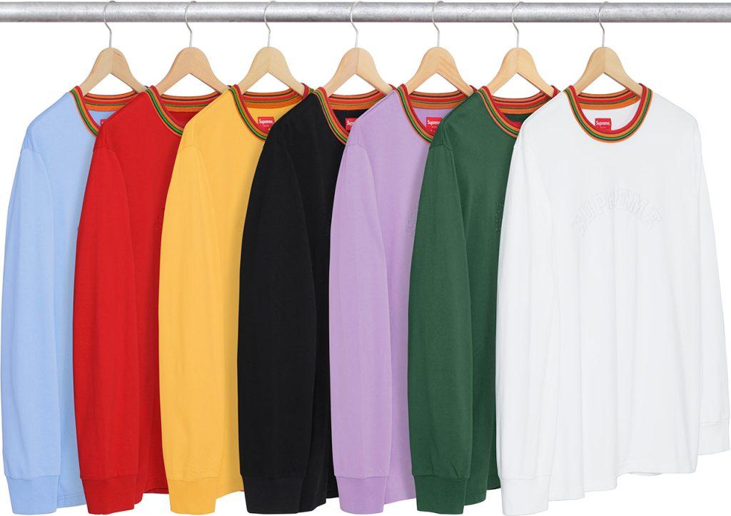 supreme-2017aw-fall-winter-multicolor-striped-rib-l-s-top
