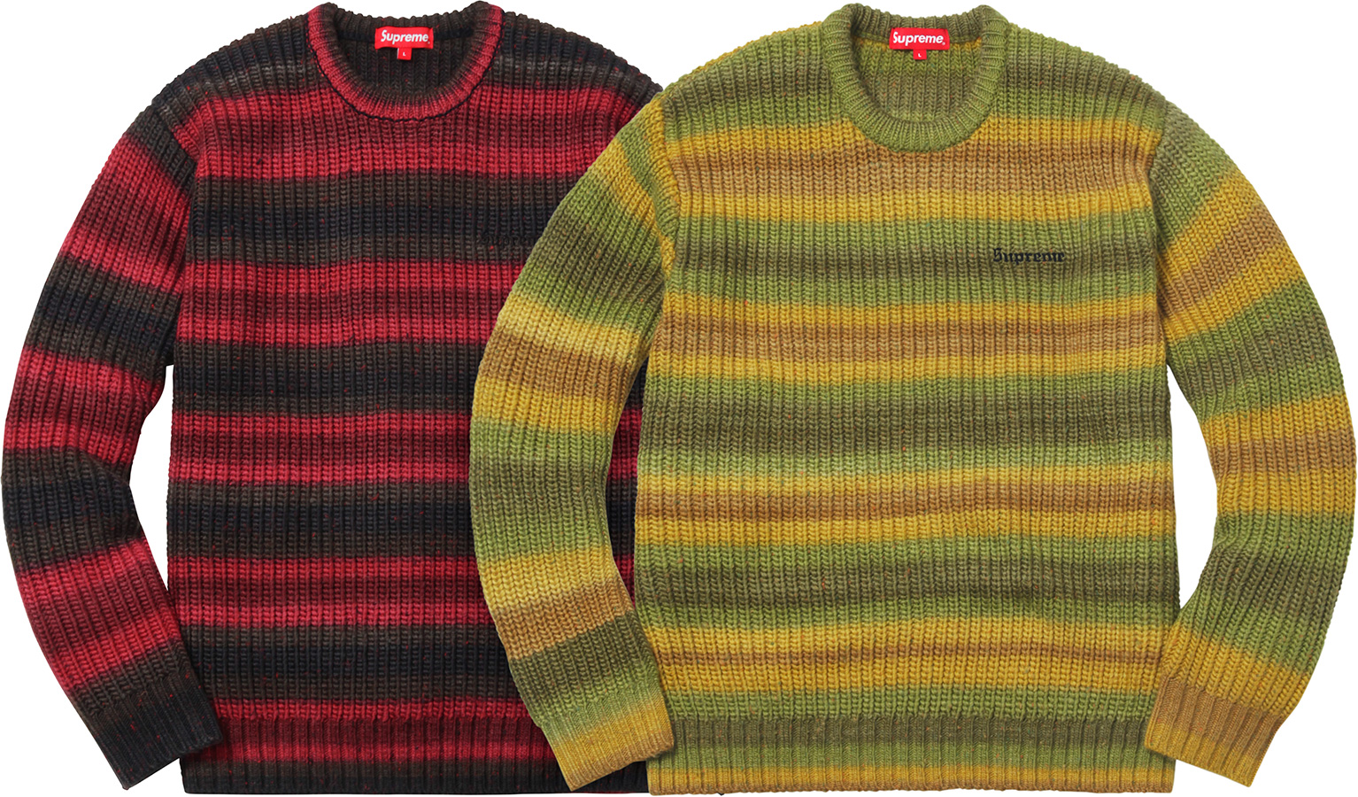 supreme-2017aw-fall-winter-ombre-stripe-sweater