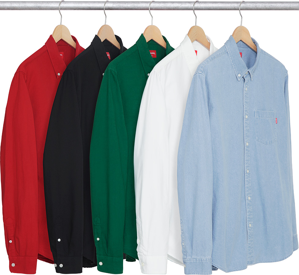 supreme-2017aw-fall-winter-oxford-shirt