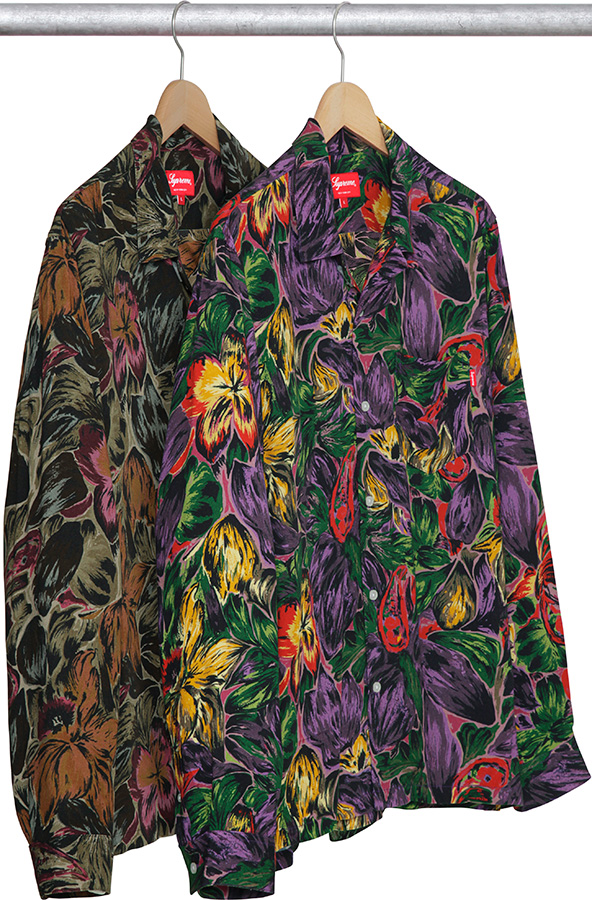 supreme-2017aw-fall-winter-painted-floral-rayon-shirt