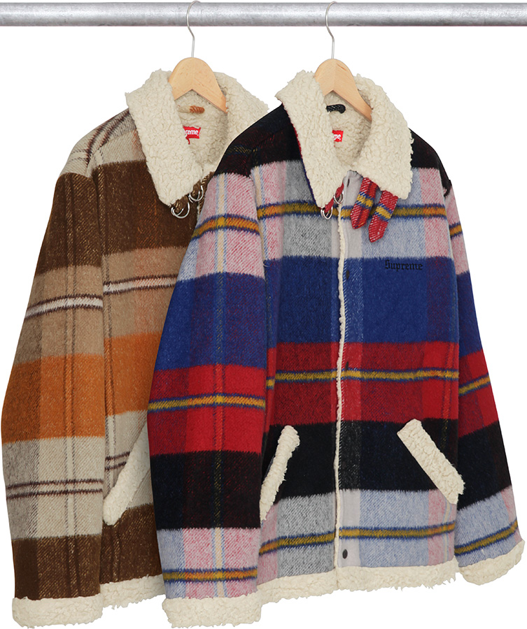 supreme-2017aw-fall-winter-plaid-shearling-bomber