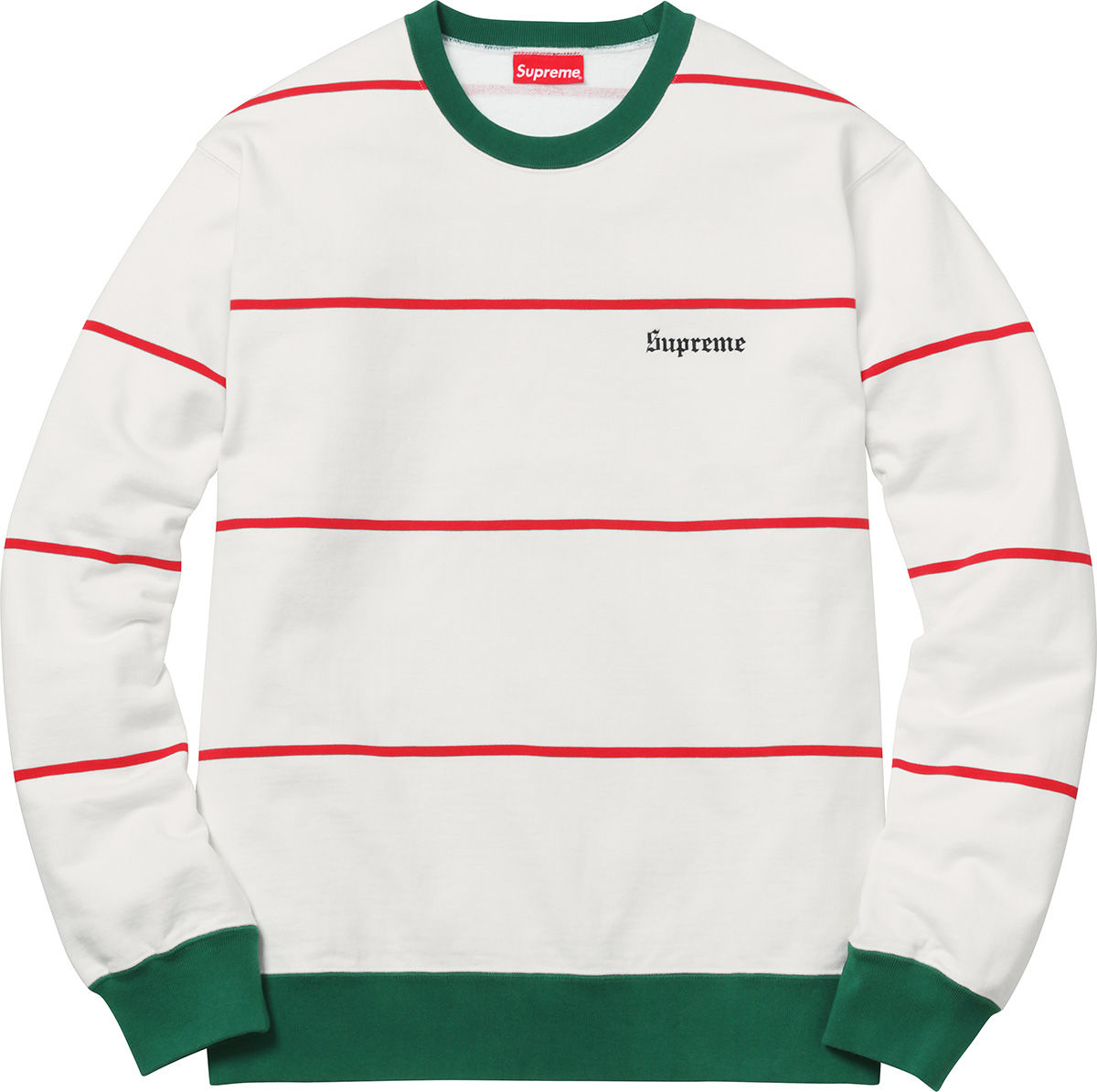 supreme-2017aw-fall-winter-striped-crewneck