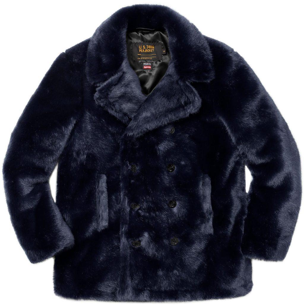 supreme-2017aw-fall-winter-supreme-schott-faux-fur-peacoat