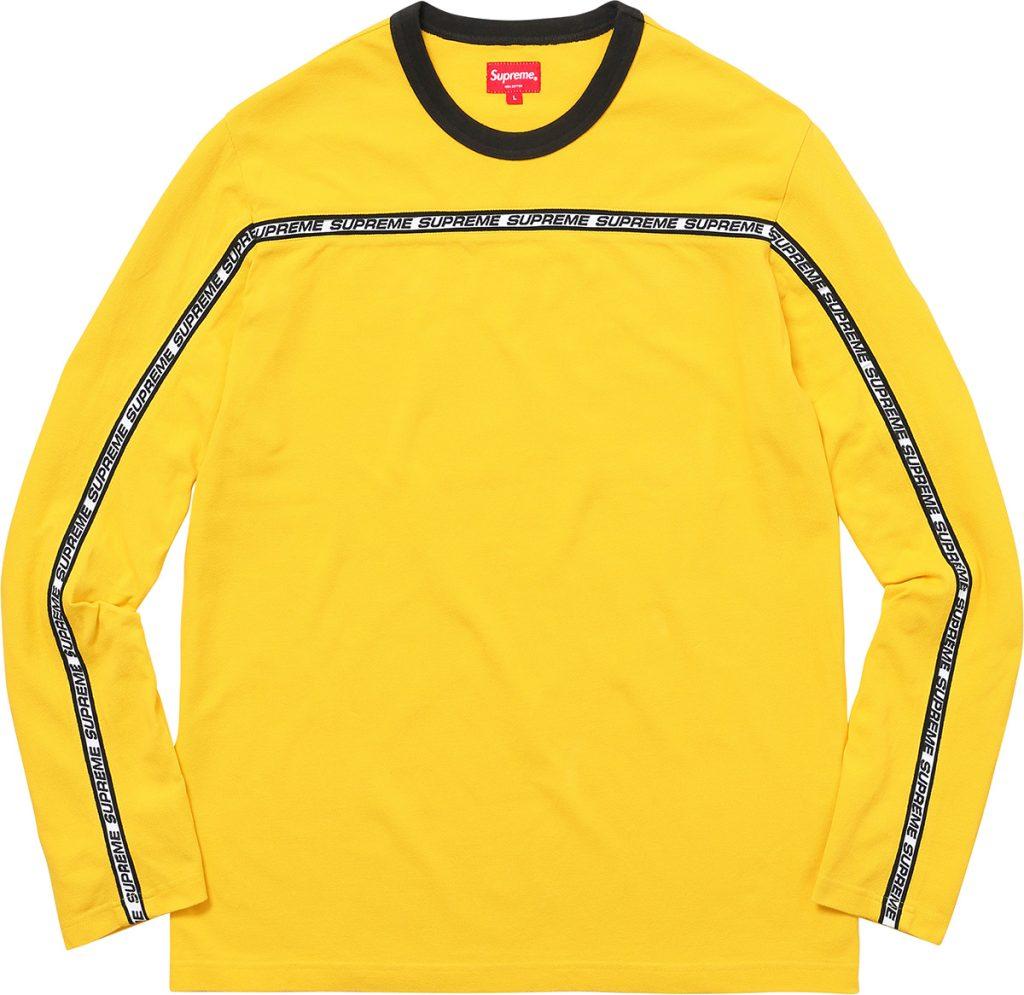supreme-2017aw-fall-winter-tape-stripe-l-s-pique-top