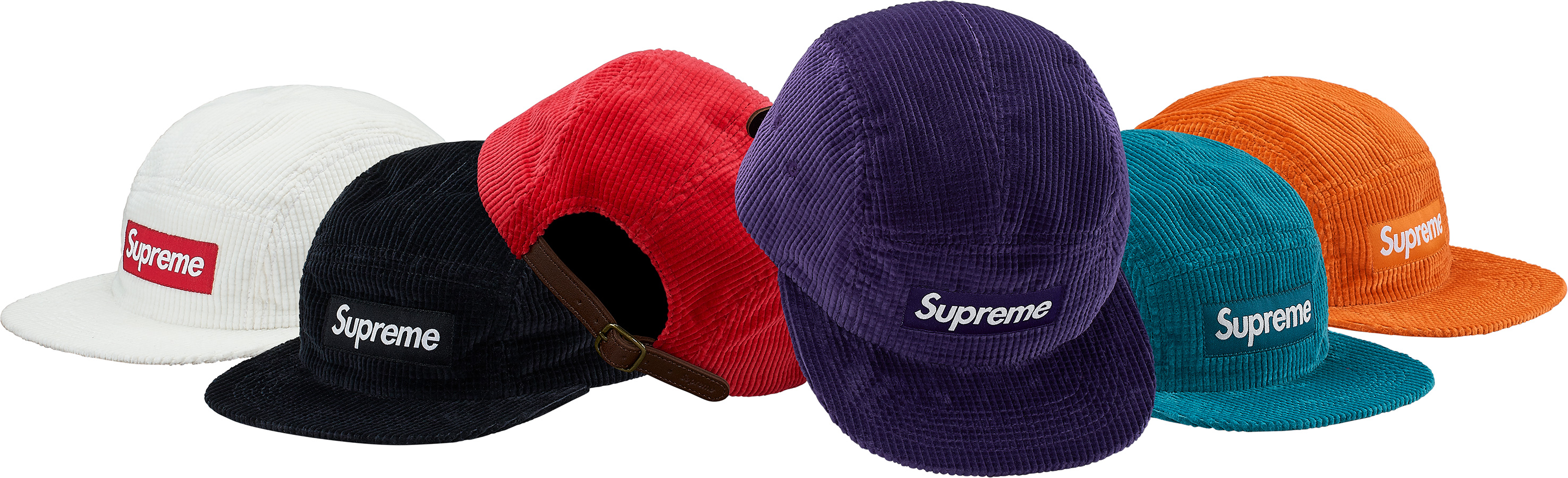supreme-2017aw-fall-winter-waffle-corduroy-camp-cap