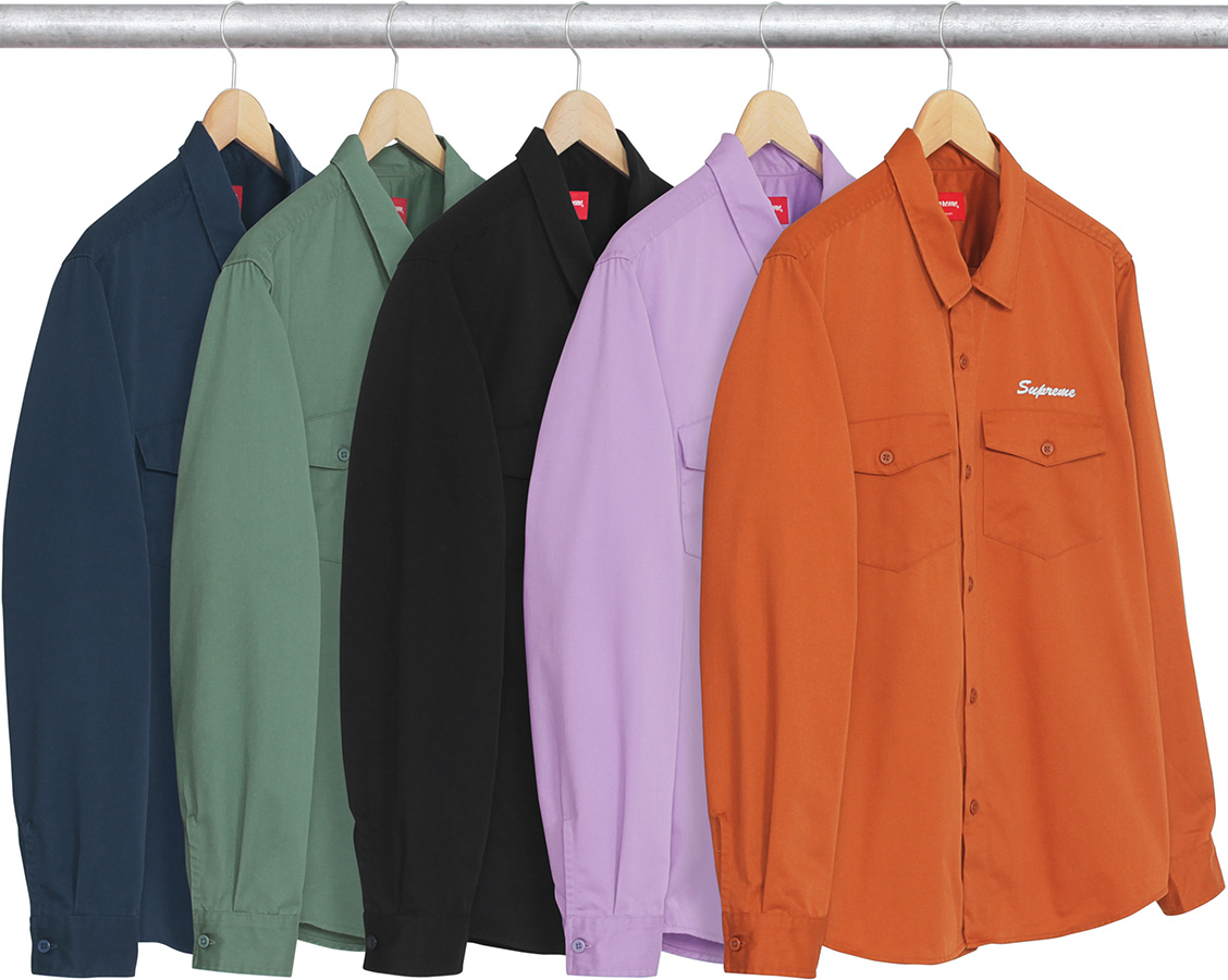 supreme-2017aw-fall-winter-waste-work-shirt