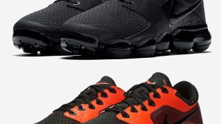 NIKE AIR VAPORMAX CS TRIPLE BLACK / BLACK ORANGEが近日発売予定