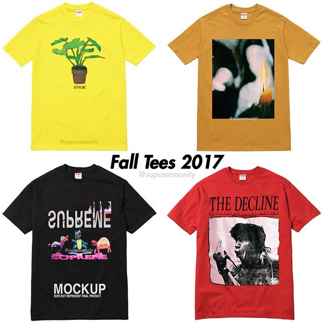 supreme-2017aw-fall-winter-tee