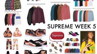 Supreme 公式通販サイトで9月23日 Week5に発売予定のアイテム画像【Andres Serrano × Vansのコラボなど】