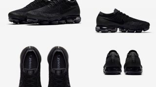 NIKE AIR VAPORMAX TPRIPLE BLACK / ANTHRACITEが9/28に国内再販予定【直リンク有り】