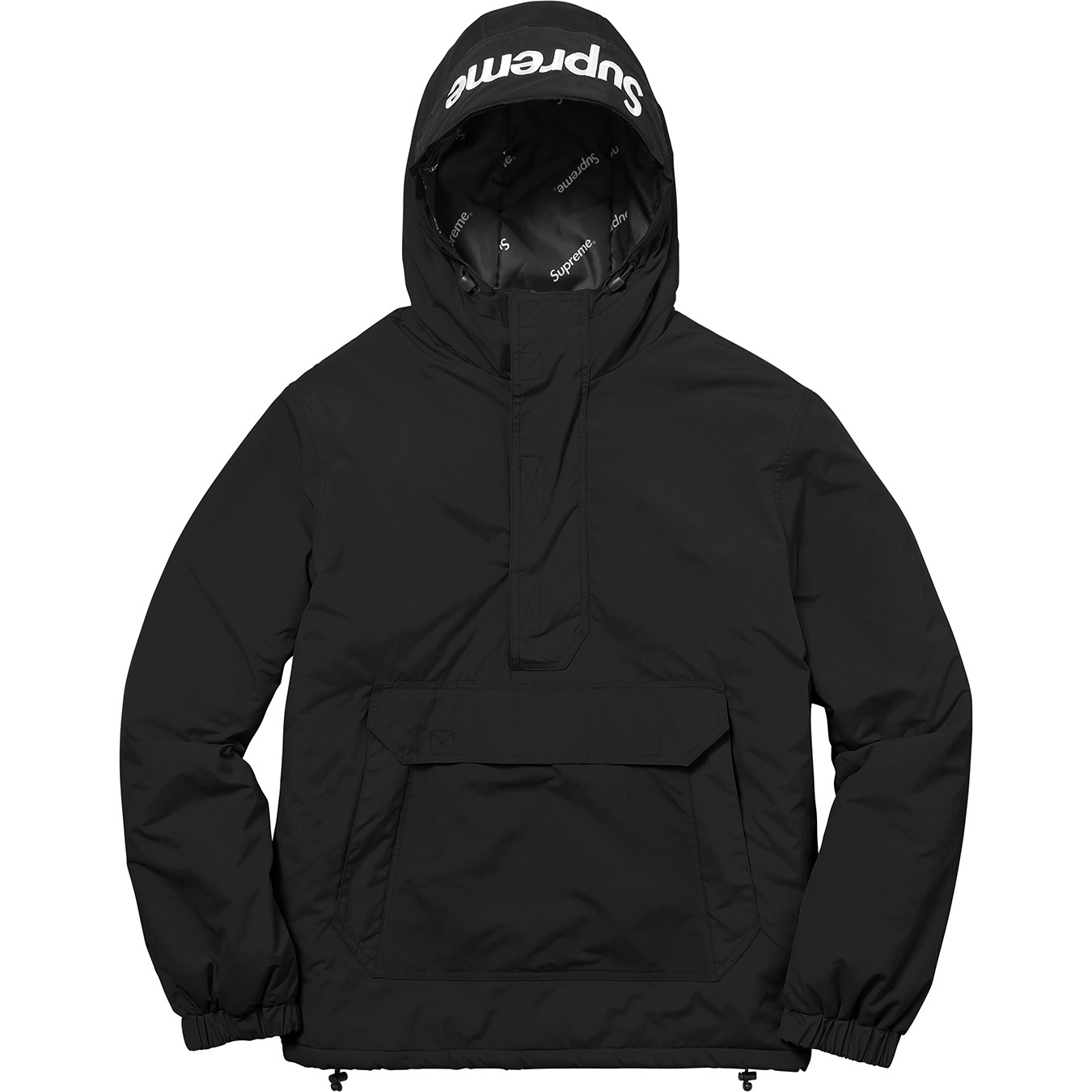 supreme-2017aw-fall-winter-hooded-logo-half-zip-pullover