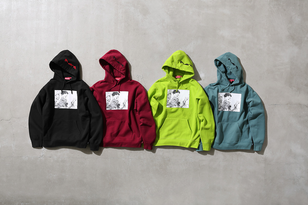 supreme-akira-otomo-katsuhiro-2017aw-collaboration-collection-release-20171104-week11-arm-hooded-sweatshirt