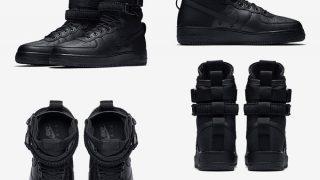 NIKE SPECIAL FIELD AIR FORCE 1 TRIPLE BLACKが11/24に国内発売予定【直リンク有り】
