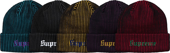 supreme-2017aw-fall-winter-2-tone-rib-beanie