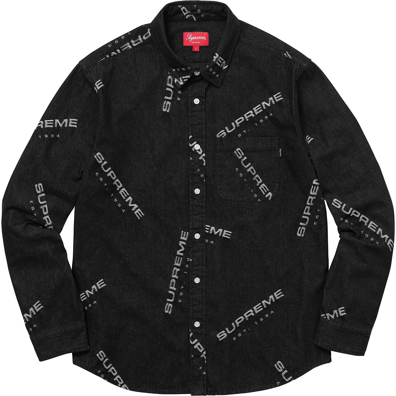supreme-2017aw-fall-winter-jacquard-denim-shirt
