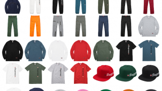 Supreme 公式通販サイトで11月18日 Week13に発売予定の新作アイテム【Independentのコラボなど】
