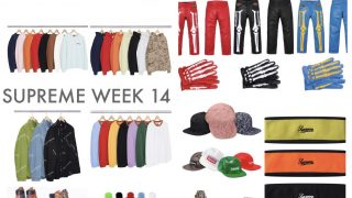 Supreme 公式通販サイトで11月25日 Week14に発売予定の新作アイテム【Vanson、Timberlandのコラボなど】