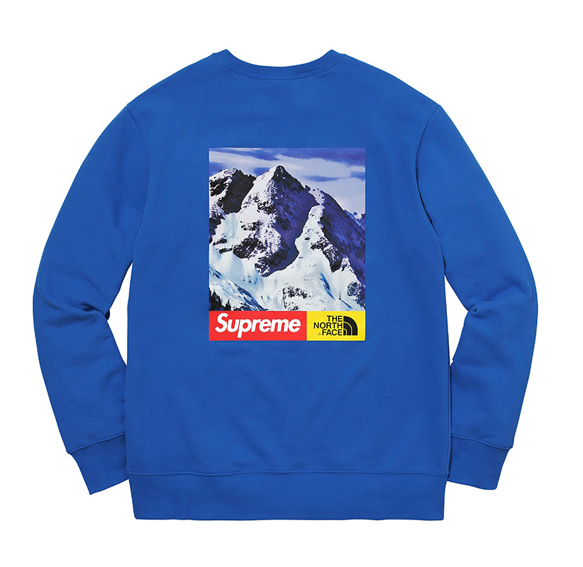 supreme-the-north-face-tnf-2017aw-2nd-collaboration-release-20171202-mountain-crewneck-sweatshirt