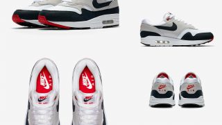 NIKE AIR MAX 1 ANNIVERSARY WHITE DARK OBSIDIANが12/15に国内発売予定【直リンク有り】