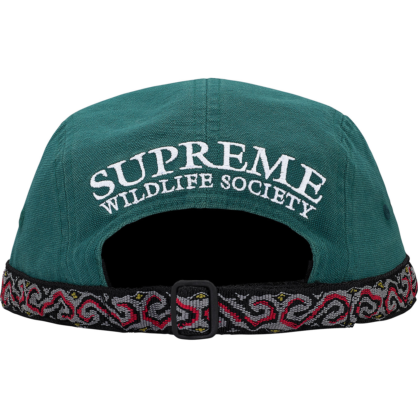 supreme-2017aw-fall-winter-wildlife-taping-camp-cap