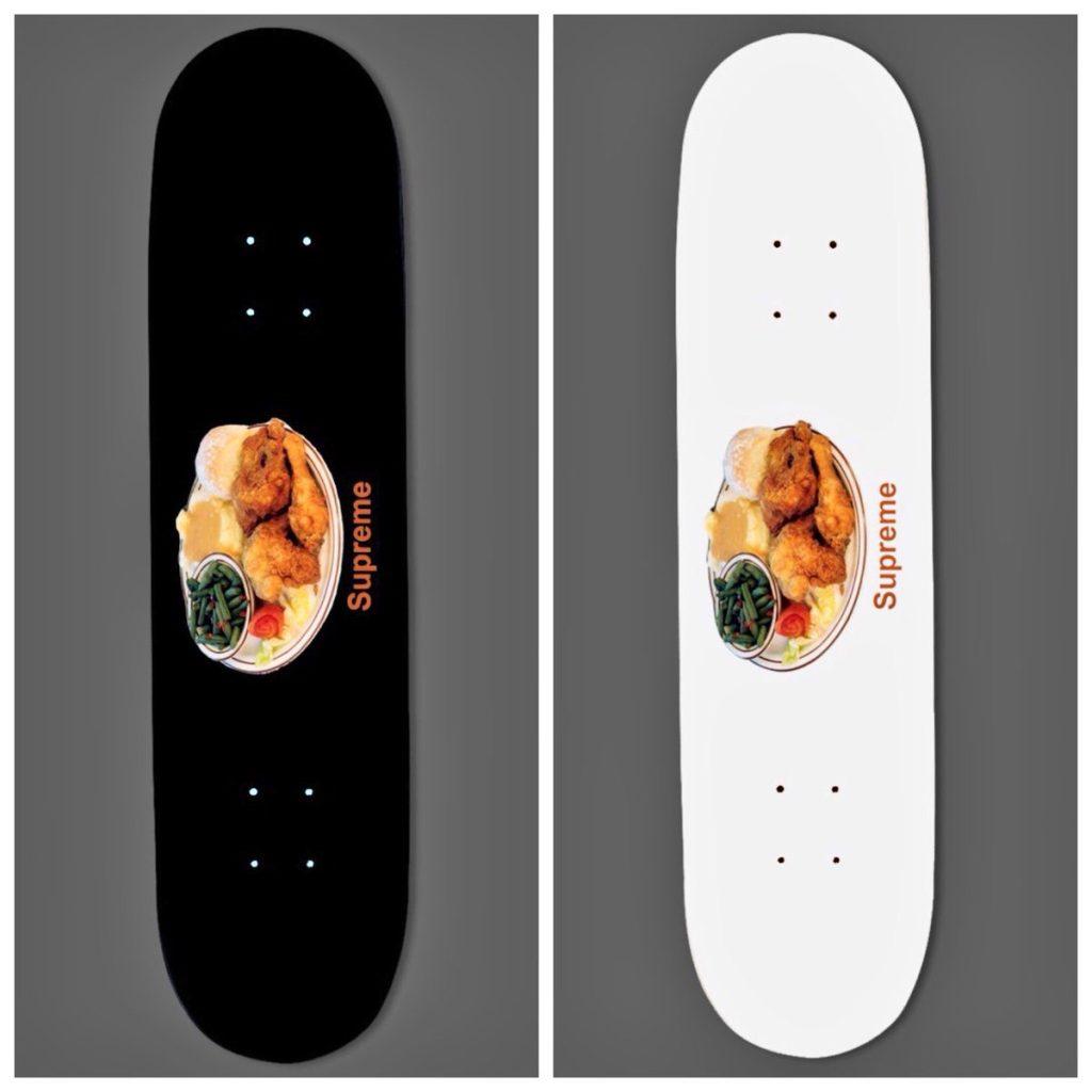 supreme-18ss-chicken-dinner-skateboard