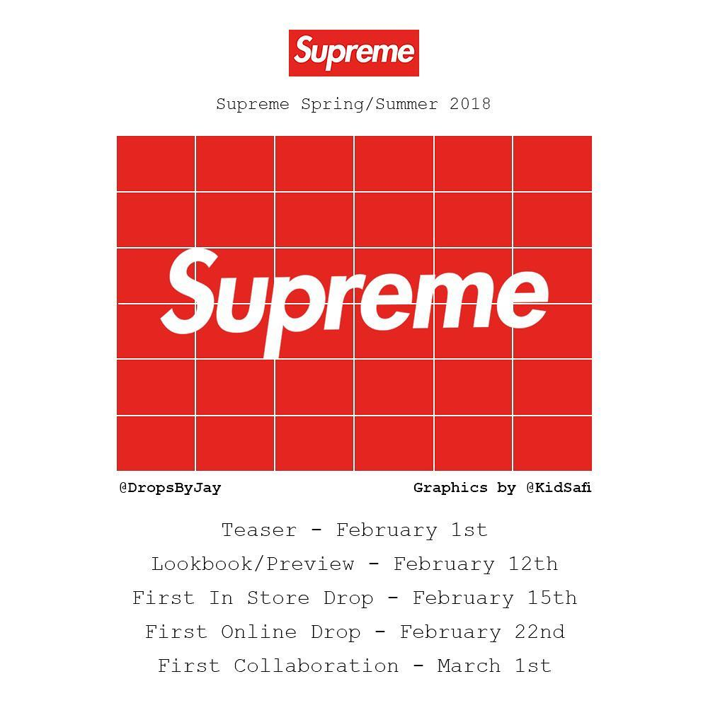 supreme-18ss-spring-summer-launch-schedule-leak-items